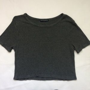 Brandy Melville Ribbed Tee